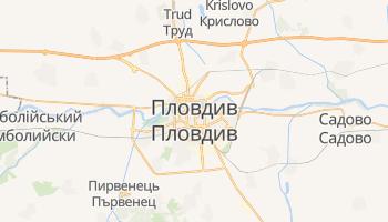 Пловдив - детальна мапа