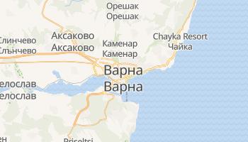 Варна - детальна мапа