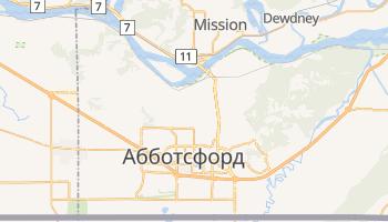 Абботсфорд - детальна мапа
