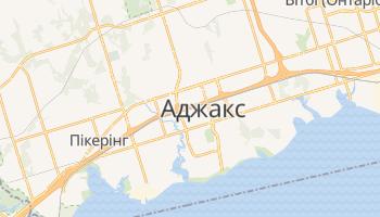 Аякс - детальна мапа