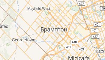 Брамптон - детальна мапа