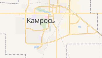 Камрось - детальна мапа