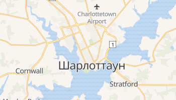 Чарлеттаун - детальна мапа