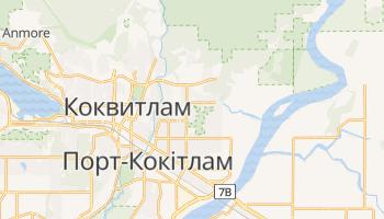 Коквитлам - детальна мапа