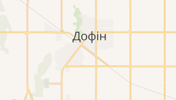 Дофін - детальна мапа
