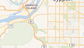 Дельта - детальна мапа