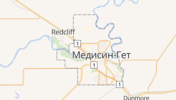 Медисин-Гет - детальна мапа