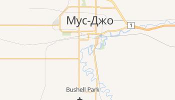 Мус-Джо - детальна мапа