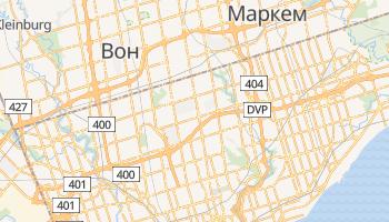 Норт-Йорк - детальна мапа