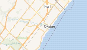 Оквілл - детальна мапа