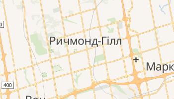 Ричмонд-Гілл - детальна мапа