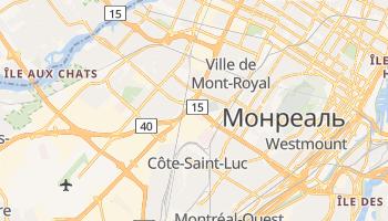 Сент-Лоуренс - детальна мапа