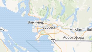 Ванкувер - детальна мапа