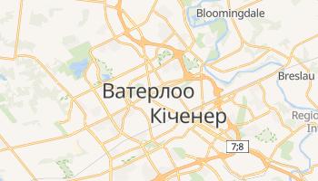 Ватерлоо - детальна мапа