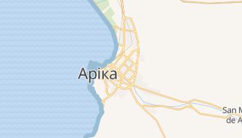 Аріка - детальна мапа