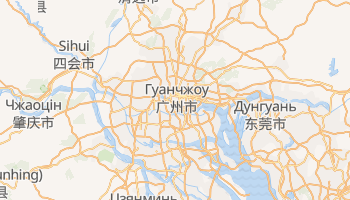 Гуанчжоу - детальна мапа