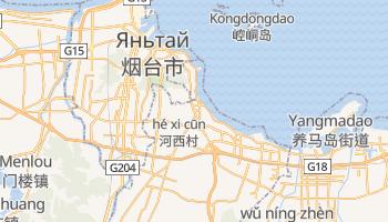 Яньтай - детальна мапа
