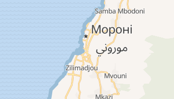 Мороні - детальна мапа