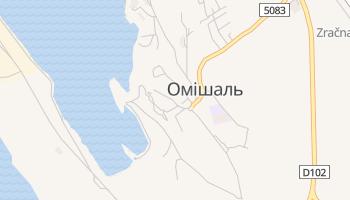 Омі - детальна мапа