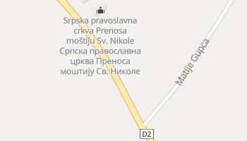 Вуковар - детальна мапа