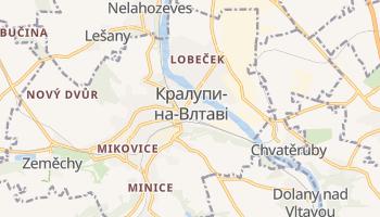 Кралупи-на-Влтаві - детальна мапа
