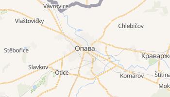 Опава - детальна мапа