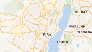 Віборг - детальна мапа