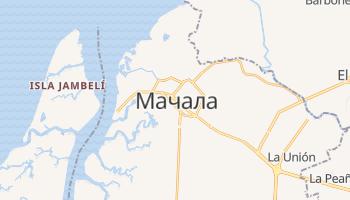 Мачала - детальна мапа