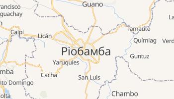 Ріобамба - детальна мапа