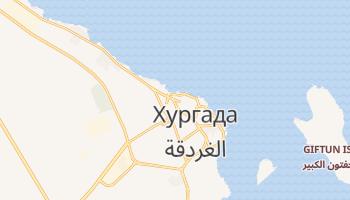 Хургада - детальна мапа