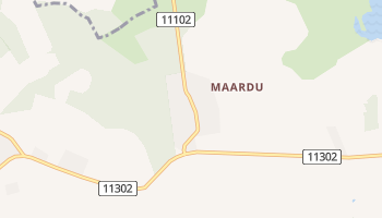 Маарду - детальна мапа