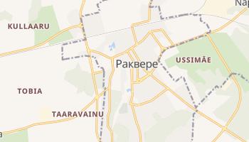 Раквере - детальна мапа