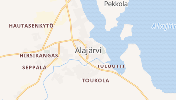 Алаярві - детальна мапа