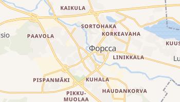 Форсса - детальна мапа