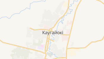 Каугайокі - детальна мапа