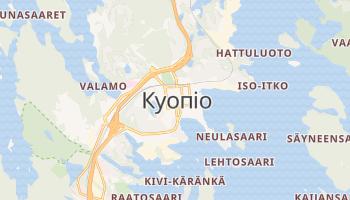Куопіо - детальна мапа