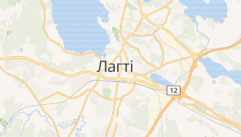 Лахті - детальна мапа