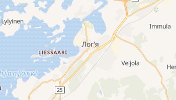 Логя - детальна мапа