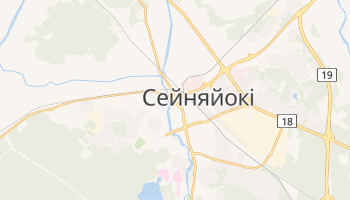 Сейняйокі - детальна мапа