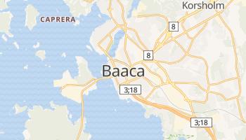 Вааса - детальна мапа