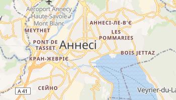 Ансі - детальна мапа
