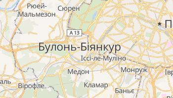 Булонь-Біянкур - детальна мапа