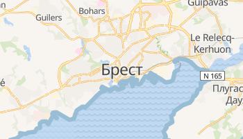 Брест - детальна мапа