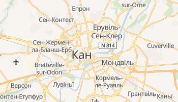 Кан - детальна мапа