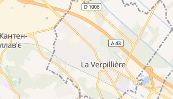 Ла-Верпійєр - детальна мапа