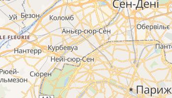 Леваллуа-Перре - детальна мапа