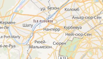 Нантерр - детальна мапа