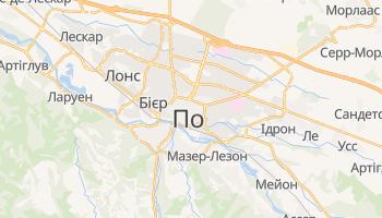 Пау - детальна мапа