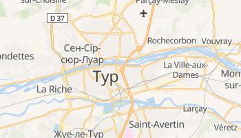 Тур - детальна мапа