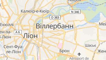 Віллербанн - детальна мапа